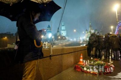 Ніч убивства Нємцова у Москві (ФОТО)