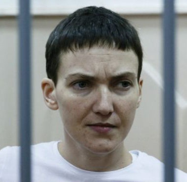 """Надії Савченко присвоїли звання """"Героя України"""""""