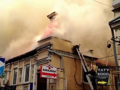 У Києві на пожежі загинули двоє рятувальників