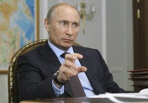 Прес-служба Кремля зображає бурхливу діяльність Путіна