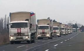 """22 російський """"гумконвой"""" перетнув український кордон"""