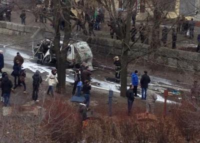 """У Харкові підрвали мікроавтобус комбата """"Слобожанщини"""""""