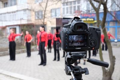 У Чернівцях «1+1» знімав реаліті-шоу «Битва салонів» (ФОТО)