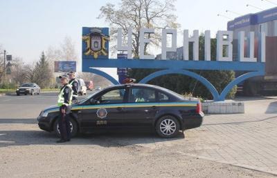 З початку березня буковинські водії 400 разів порушили правила