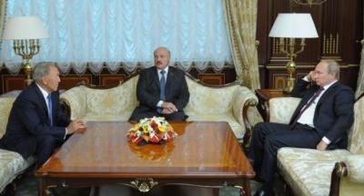Назарбаєв, Лукашенко та Путін зберуться в Астані обговорити ситуацію в Україні
