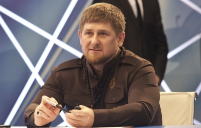 """Путін нагородив Кадирова орденом """"Пошани"""""""