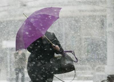 На Буковині до кінця тижня — дощ і мокрий сніг