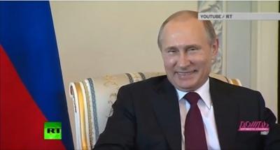 Журналістам показали живого Путіна