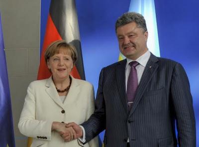 Порошенко: Німеччина надасть 500 мільйонів євро допомоги