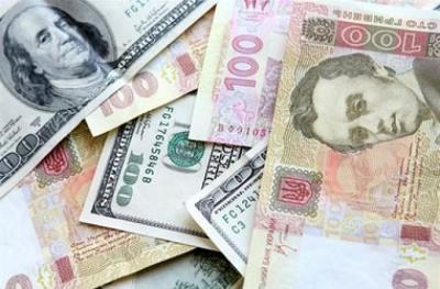 На міжбанку курс гривні знизився до рівня 22,20 за долар