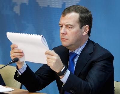 """Медведєв: """"Газпром"""" після 1 квітня має постачати Україні газ на умовах контракту 2009 року"""