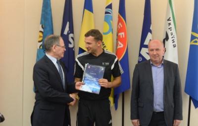 Андрій Шевченко отримав диплом тренера