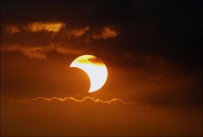 Сьогодні відбудеться сонячне затемнення