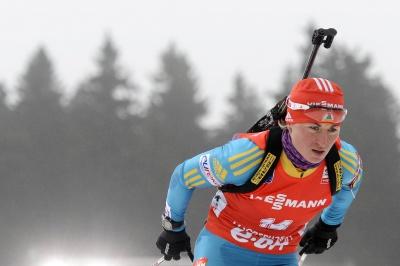 Валя Семеренко стала третьою у загальному заліку Кубка світу з біатлону