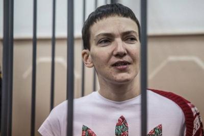 Савченко готова припинити голодування, якщо її переведуть під домашній арешт
