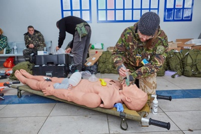 На Буковині військових медиків навчатимуть за стандартами НАТО