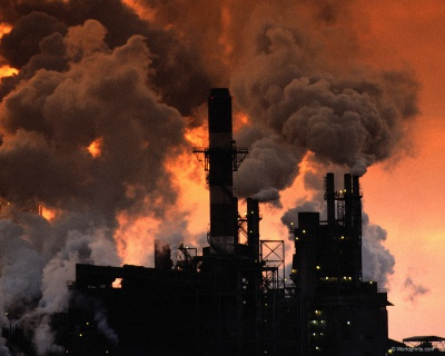 Забруднення повітря спричинює алергію