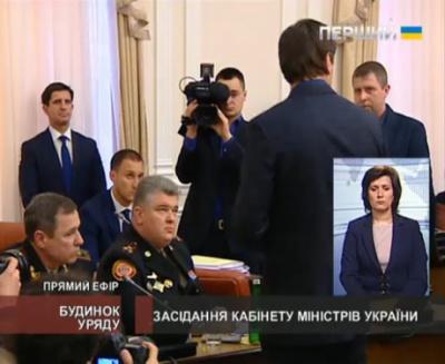 Керівника ДСНС та його заступника затримали прямо на засіданні уряду