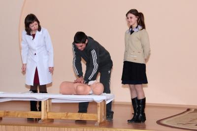 Організували тренінг для школярів
