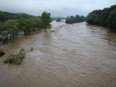 Дощі та сніг піднімуть рівень води в річках Буковини