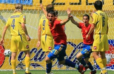 Україна мінімально поступилася Іспанії у відборі на Євро-2016