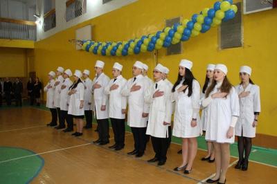 Буковинські студенти-медики склали присягу як офіцери запасу