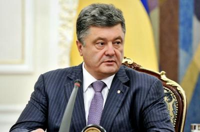 Порошенко: Санкції проти Росії включатимуть арешт окремих активів і рахунків