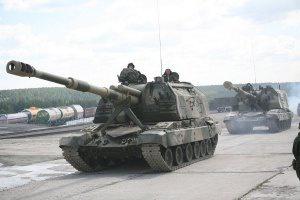 В районі Широкиного бойовики обстріляли позиції АТО з САУ