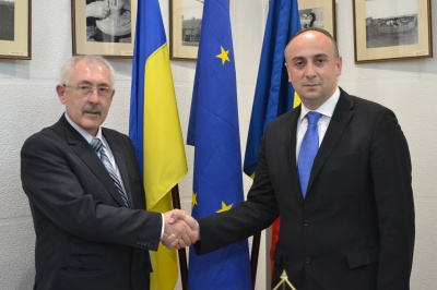 Держсекретар МЗС Румунії зустрівся з викладачами і студентами ЧНУ