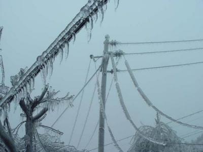 Через негоду 45 сіл Буковини залишилися без електроенергії