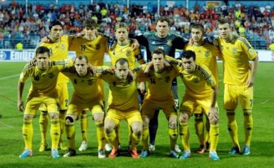 Українська збірна опустилася на 15 місце у рейтингу УЄФА