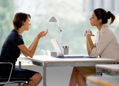 Як потрібно поводитися під час інтерв'ю