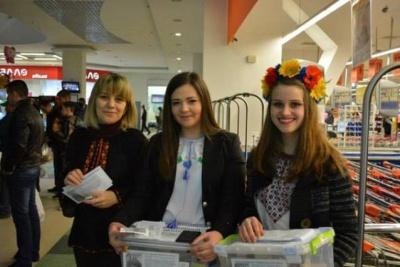Студенти-журналісти з Чернівців збирали великодні кошики в АТО