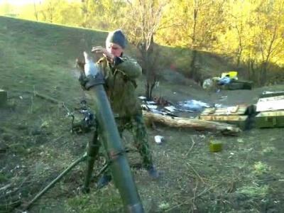 Бойовики обстріляли з мінометів Донецьк