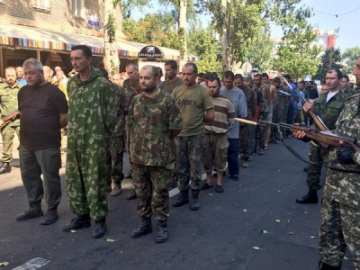 У полоні бойовиків залишаються 400 українських військових