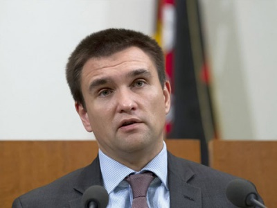 """Клімкін підтвердив проведення 13 квітня зустрічі міністрів """"нормандської четвірки"""""""