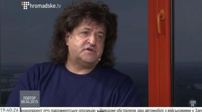 Буковинець Іво Бобул вважає, що Путін з'їхав з глузду