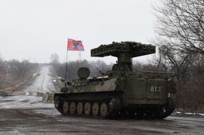 НАТО: Кількість військової техніки у бойовиків постійно збільшується