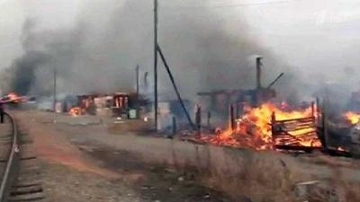 У Хакасії, через масові пожежі, загинули 15 осіб