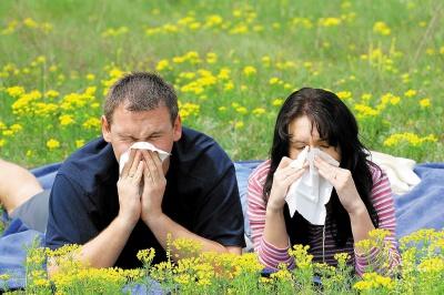 Від цвіту – і нежить, і кашель