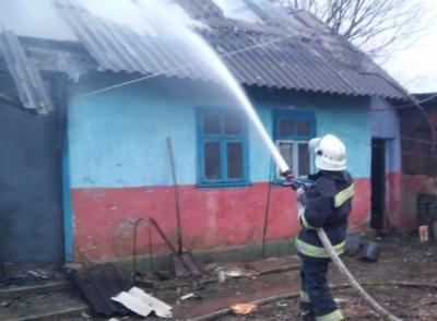 Через буревій на Буковині горіли чотири будинки