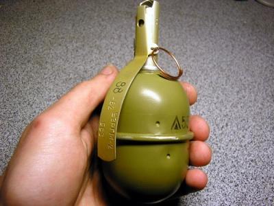 Буковинець на Пруті знайшов ручну гранату і зберігав її у себе вдома