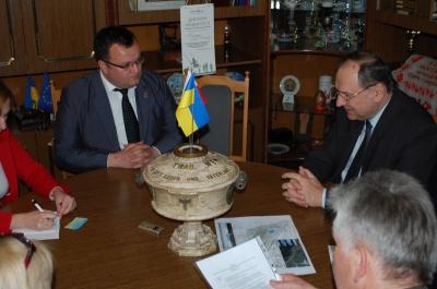 Посол Польщі поговорив з мером Чернівців про децентралізацію влади