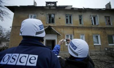 ОБСЄ зафіксувала у Донецьку 356 вибухів за неповні чотири години