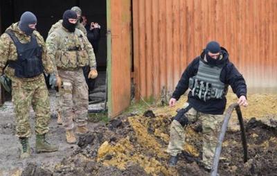 На Луганщині ліквідували підпільний нафтопровід з Росії