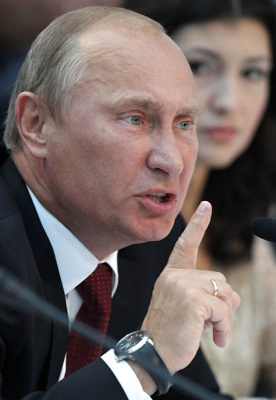 Путін розповів росіянам, що санкції не через Крим, а щоби сповільнити розвиток РФ