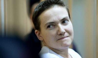 Надію Савченко переведуть у міську лікарню Москви