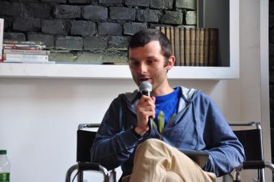 Махно був трохи божевільний, - польський письменник у Чернівцях презентував свою книгу про Нестора Махна (ФОТО)