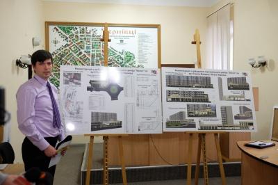 """Чернівецькі архітектори не дозволили прибудову до """"Колоса"""" (ФОТО)"""