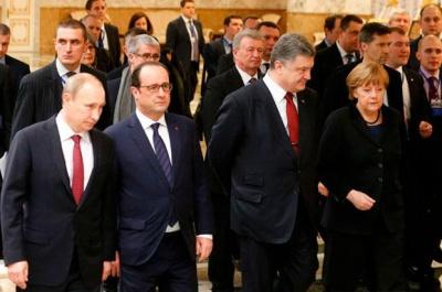"""Лідери країн """"Нормандської четвірки"""" провели переговри щодо ситуації на Донбасі"""